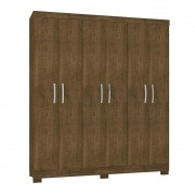 Guarda Roupa 06 Portas Mutuipe Malbec - Incorplac