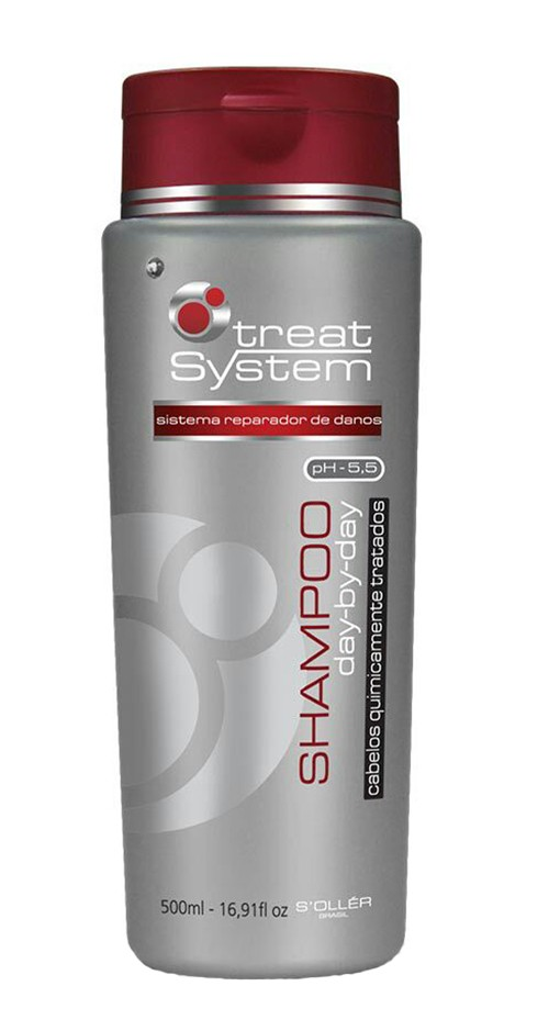 Shampoo Treat System Day By Day 500ml - S'ollér Brasil