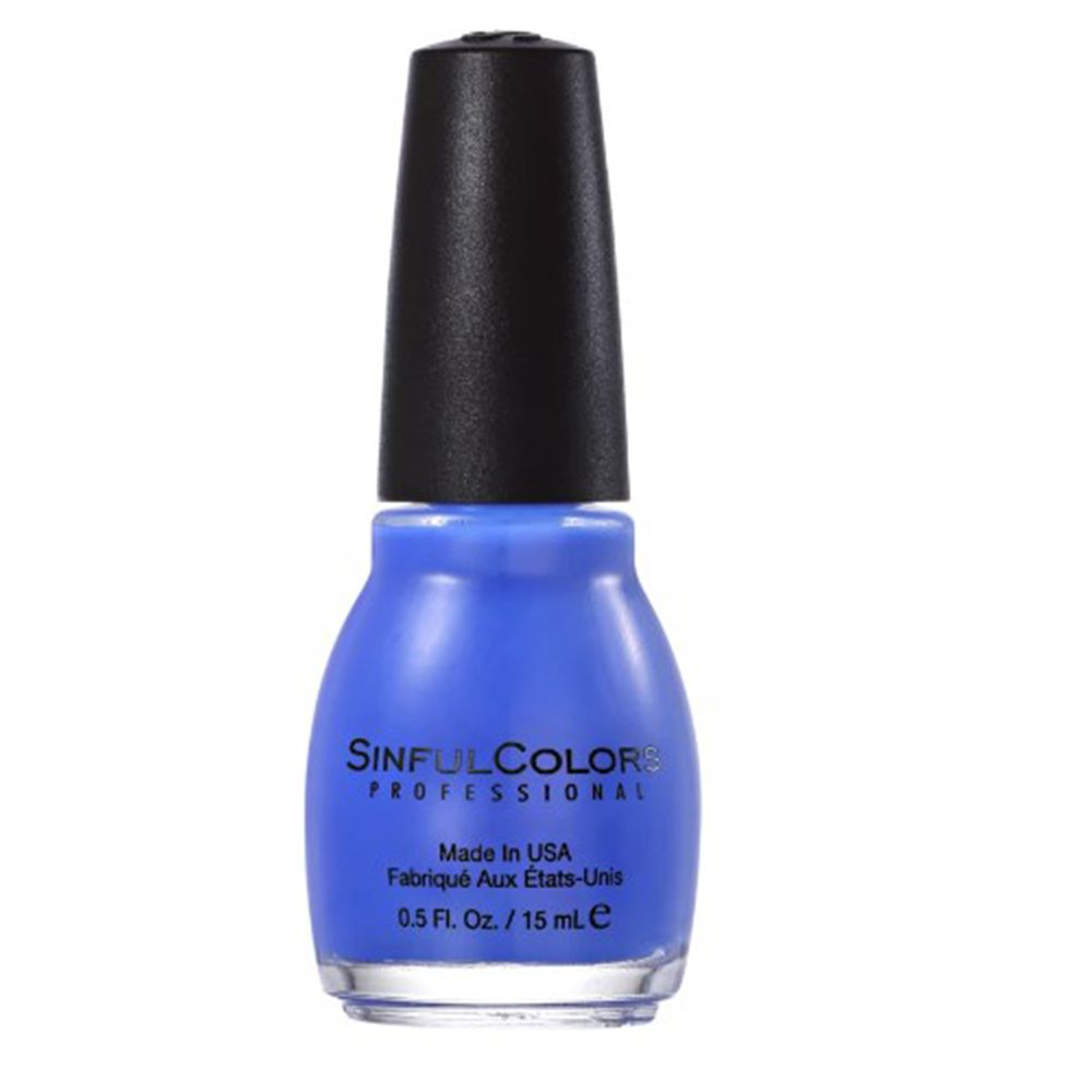 Esmalte Cremoso Endless Blue 1052 Azul Celeste 15 ml - SinfulColors