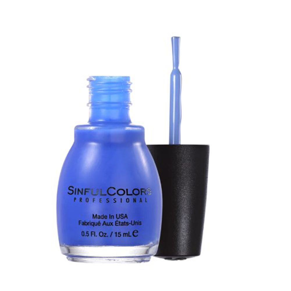 Esmalte Cremoso Endless Blue 1052 Azul Celeste 15 ml - SinfulColors