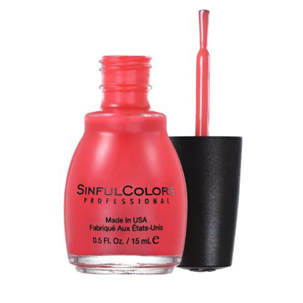 Esmalte Cremoso Energetic Red 1122 Malva 15 ml - SinfulColors