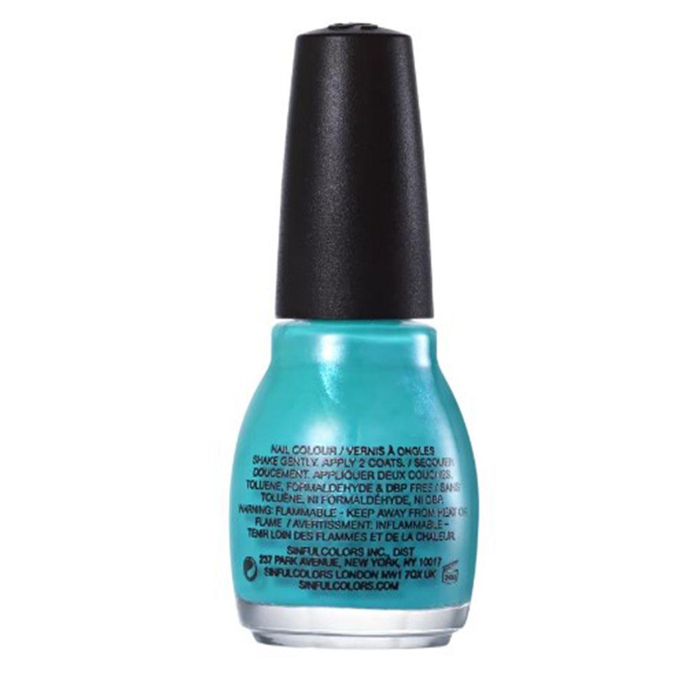 Esmalte Cremoso Rise And Shine 940 Azul Piscina 15 ml - SinfulColors