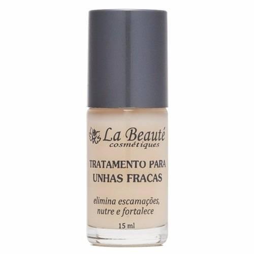 Base Tratamento Para Unhas Fracas Kit Com 03 Und 15ML - La Beauté