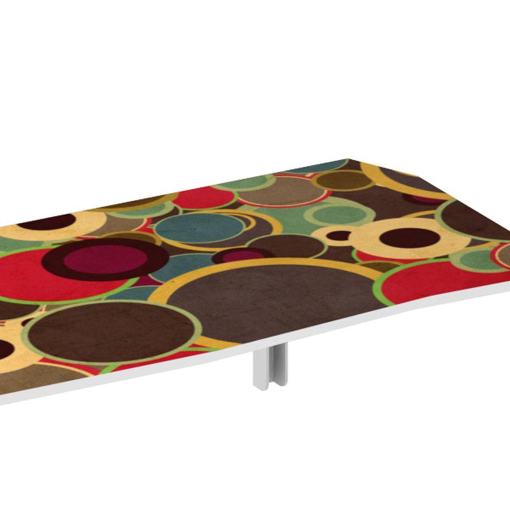 Mesa de Parede Dobrável em MDF Impress 110 cm - Balls
