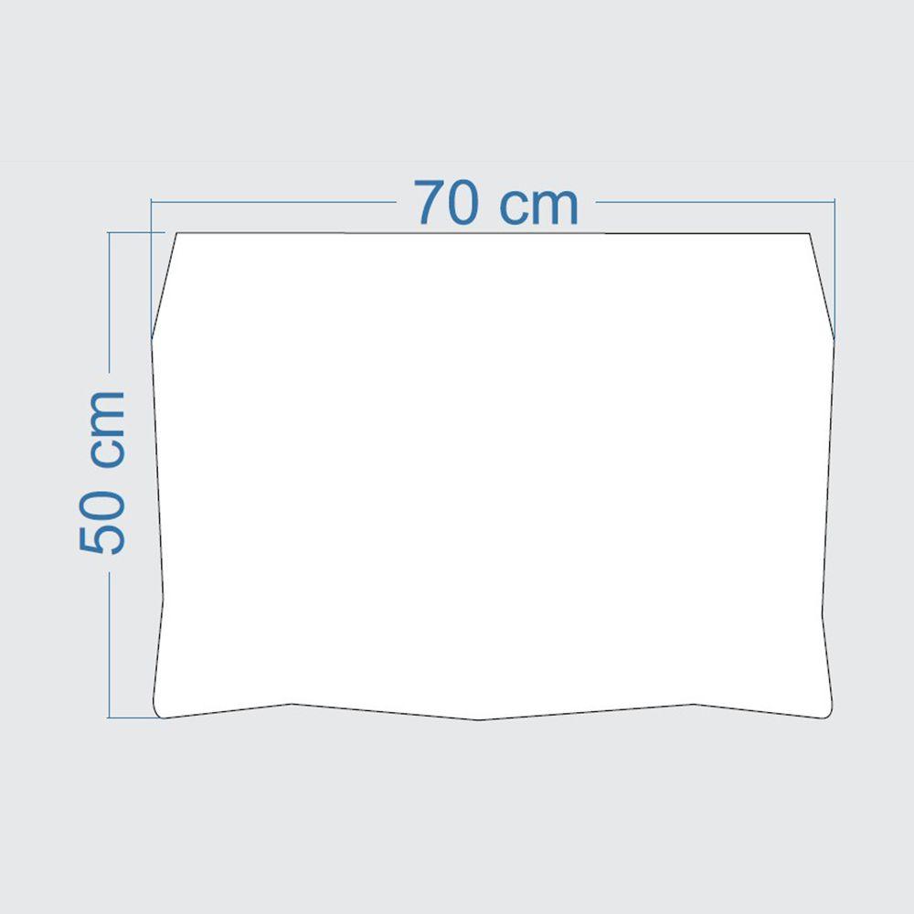 Mesa de Parede Dobrável em MDF Pratice 70 cm - Turquesa