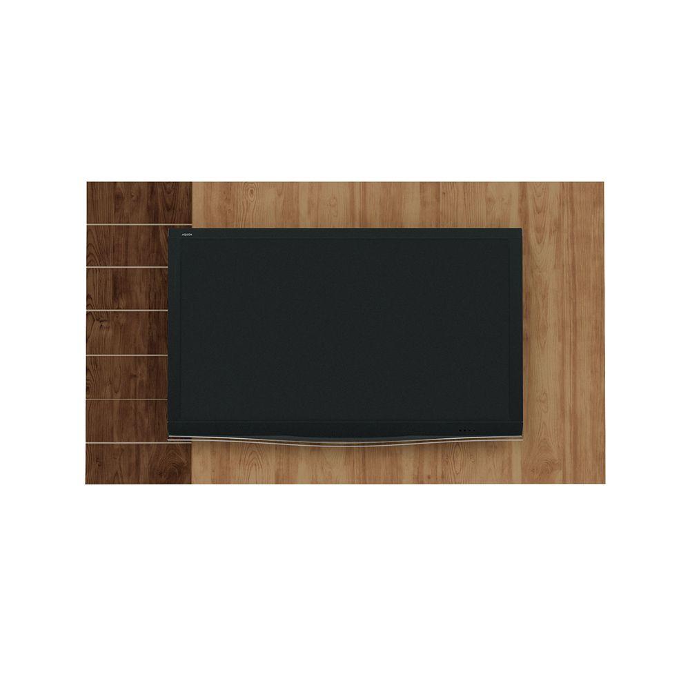 Painel Para TVs de Até 50 Polegadas Goya Buriti/Havana - Caemmun