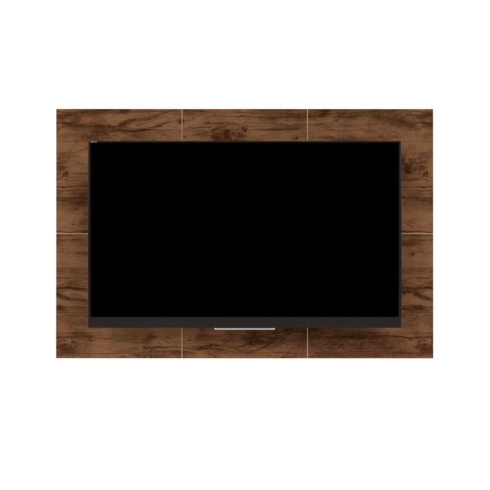 Rack Com Painel Para TV Até 60 Polegadas Prince Jatobá - Caemmun