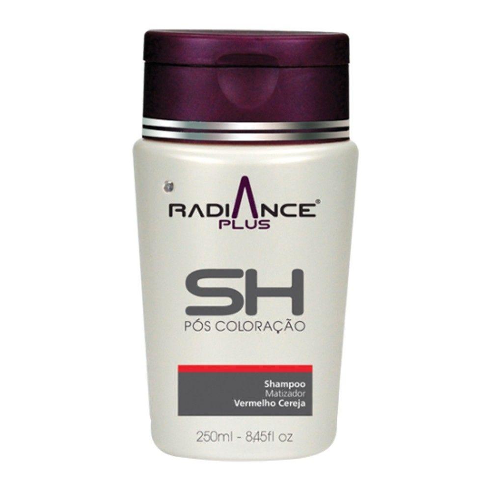 Shampoo Matizador Radiance Plus Vermelho Cereja 250ml - S'oller Brasil