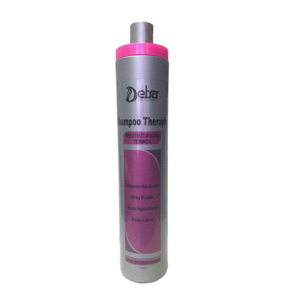 Shampoo Para Alisamento Theraphy 1000ml - Detra Cosmétics