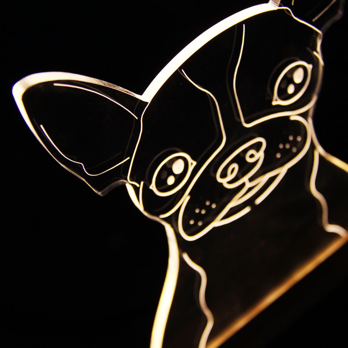Luminária Chihuahua
