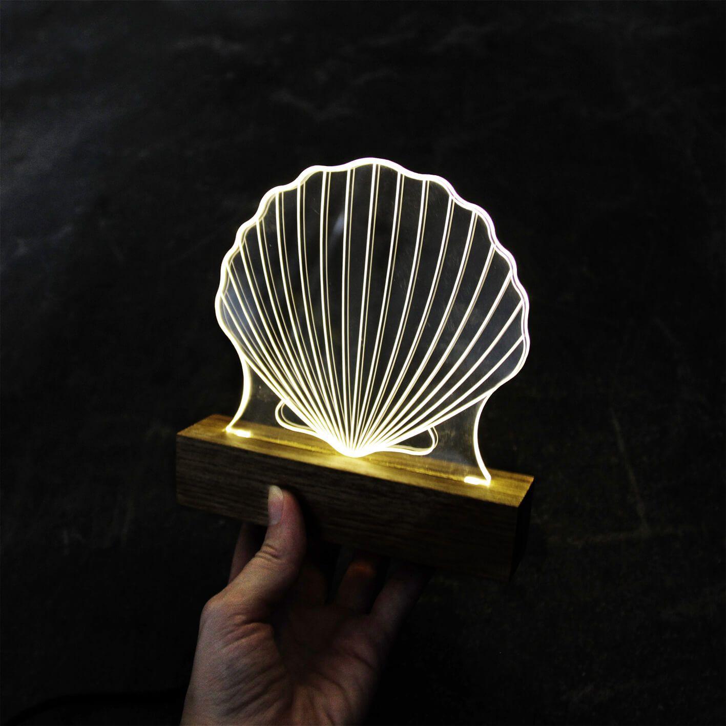 Luminária Concha