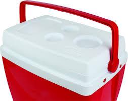 Caixa Térmica 26 Litros Vermelha - Mor