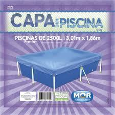 Capa Para Piscina Premium 2.500L Mor -1.86 (L) x 3.01(C)