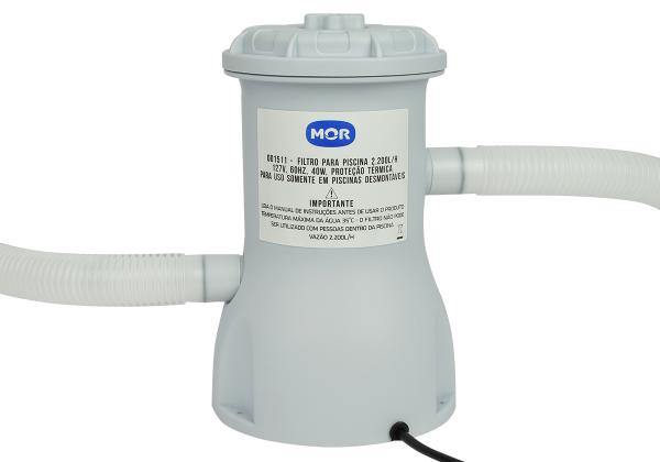 Filtro para Piscina 3.600 L/h 110v - Mor