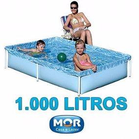 Piscina 1.000 Litros (L)1.26 x (C)1.89 Mor 1002
