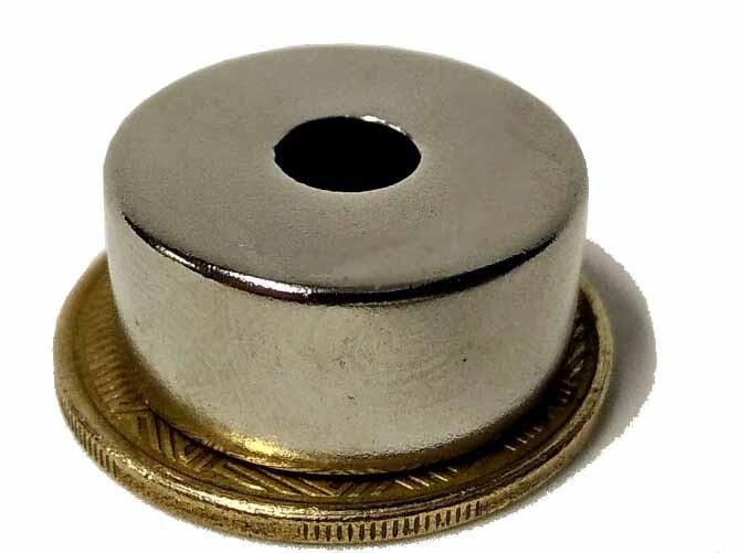 Imã De Neodímio N45 22mm X 6,5mm X 10mm , 1pç Super Forte