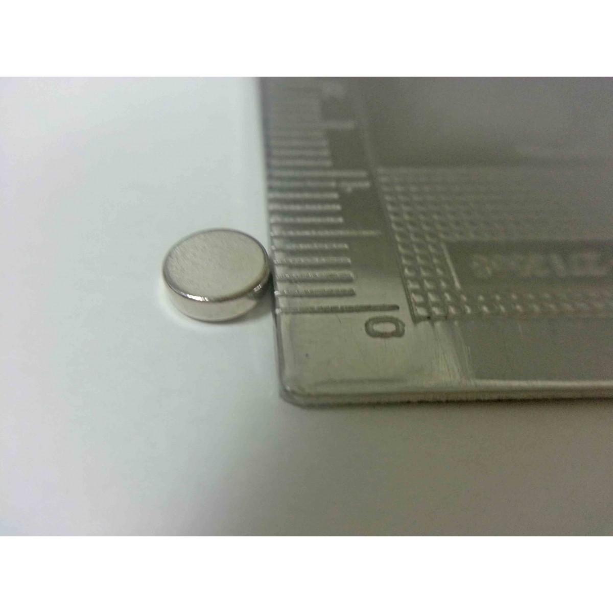 Ima De Neodímio / Super Forte / 5mm X 1,5mm - 100 Peças