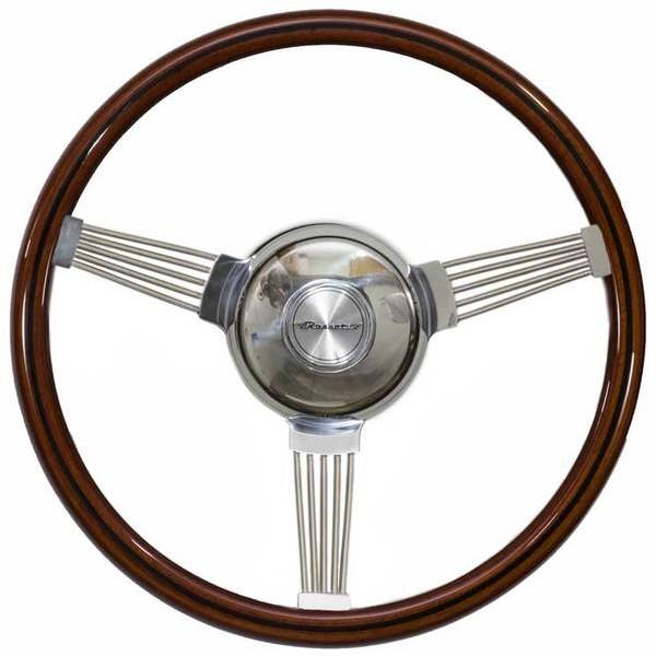 Volante Lenker Banjo II Madeira 360mm