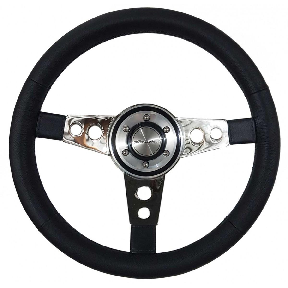 Volante Lenker Racing Couro