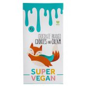 CHOCOLATE BRANCO COOKIES AND CREAM 95g - SUPER VEGAN