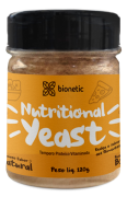 Nutritional Yeast Em Pó (Levedura Nutricional) Bionetic 120g Sabor Natural