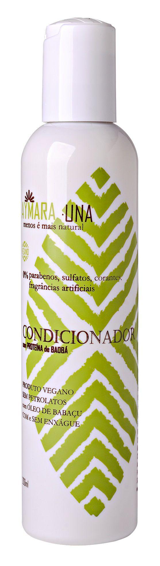 Condicionador Aymarauna 0% parabenos, sulfatos, corantes, fragrâncias artificiais - 200 ml