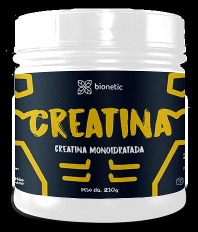 Creatina Monoidratada Bionetic 210g