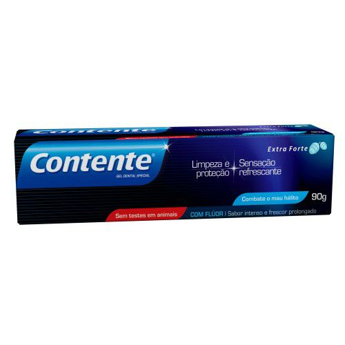 Gel Dental Contente Extra Forte - 90g