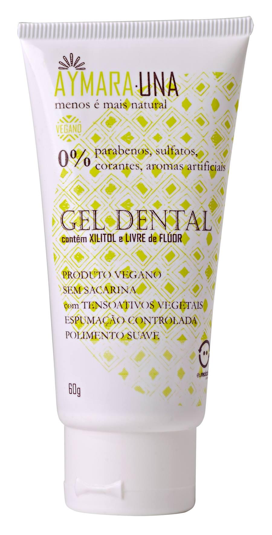 Gel Dental Sem Flúor VEGANO (Aymarauna) - 60g