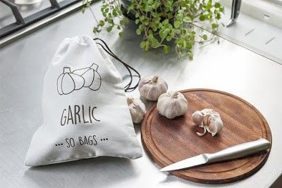 Sacola para legumes Sobags Garlic (Alho)