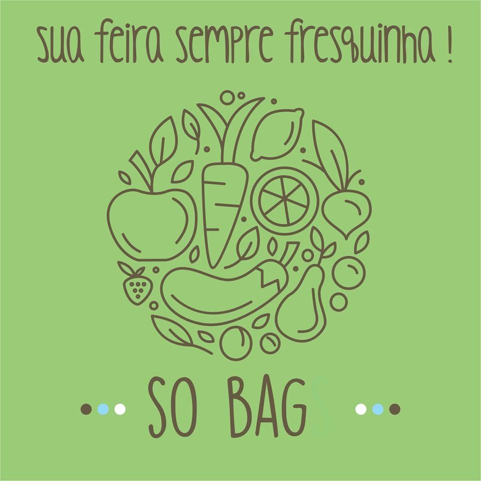 Sacola para legumes Sobags Greens