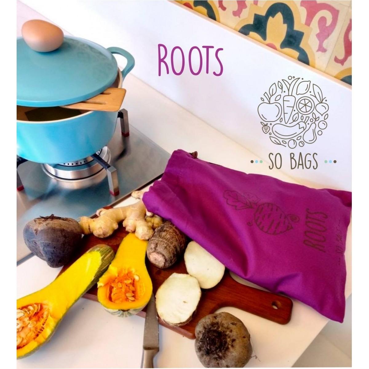 Sacola para legumes Sobags Roots
