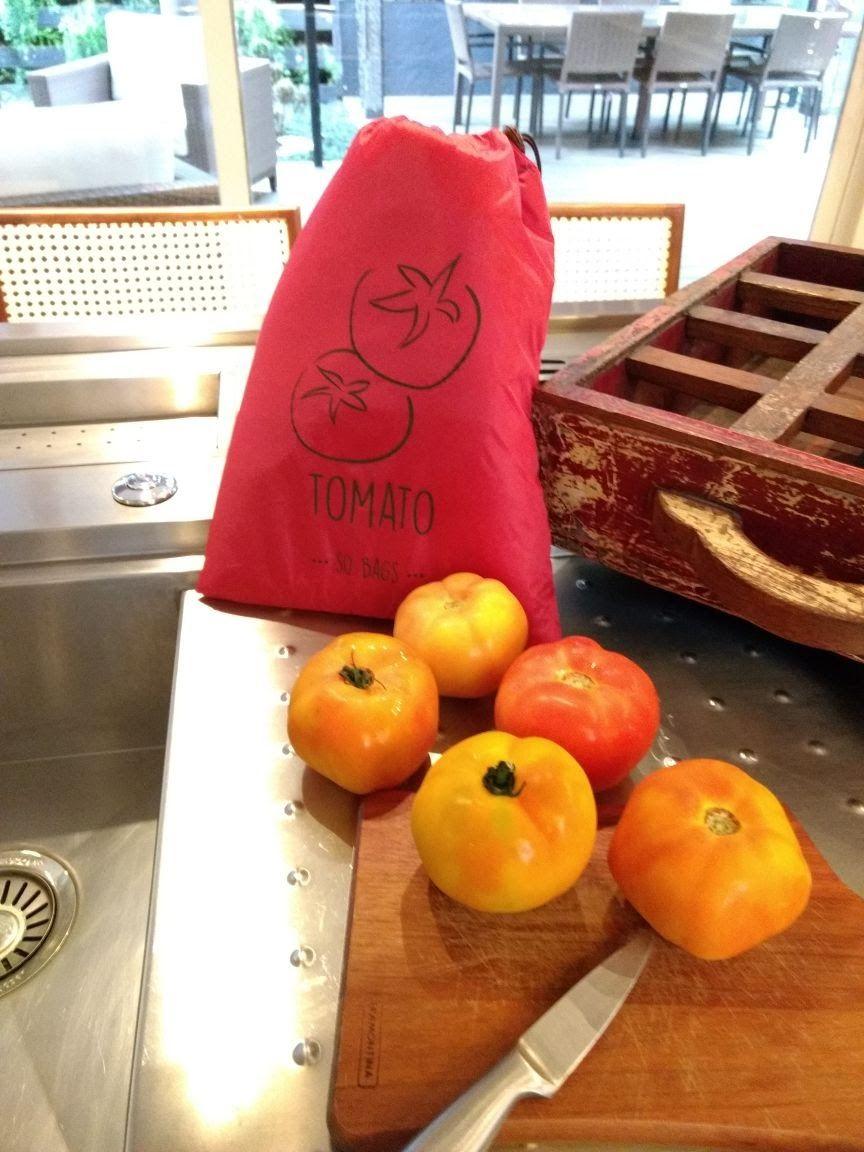 Sacola para legumes Sobags Tomato