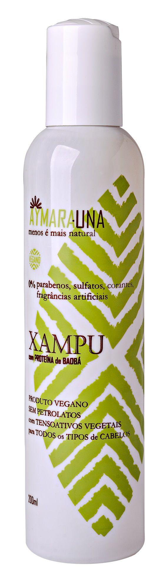 Shampoo Aymarauna 0% parabenos, sulfatos, corantes, fragrâncias artificiais - 200 ml