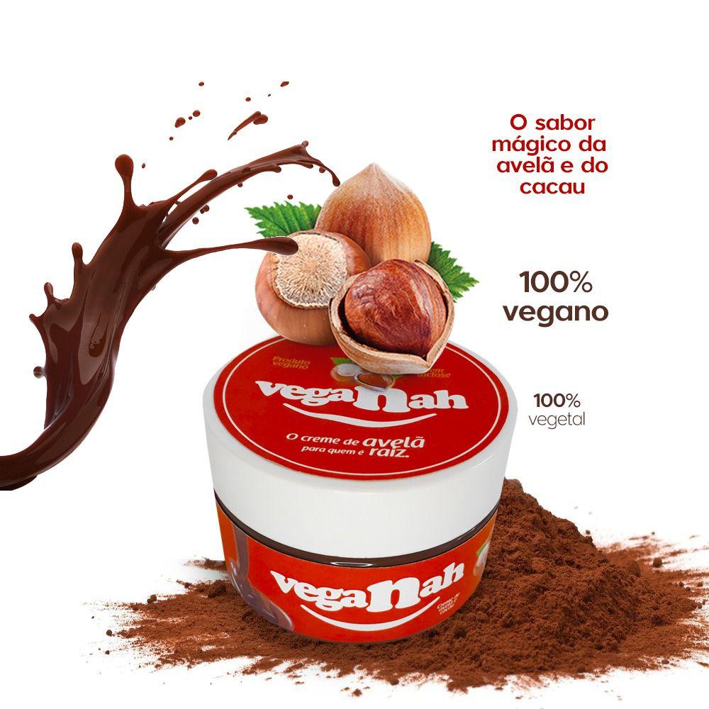 VEGANAH Creme de Avela e Cacau Vegano (200g)