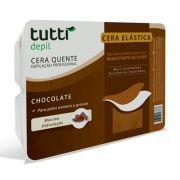 Cera Quente Elástica Chocolate 1kg Tutti Depil