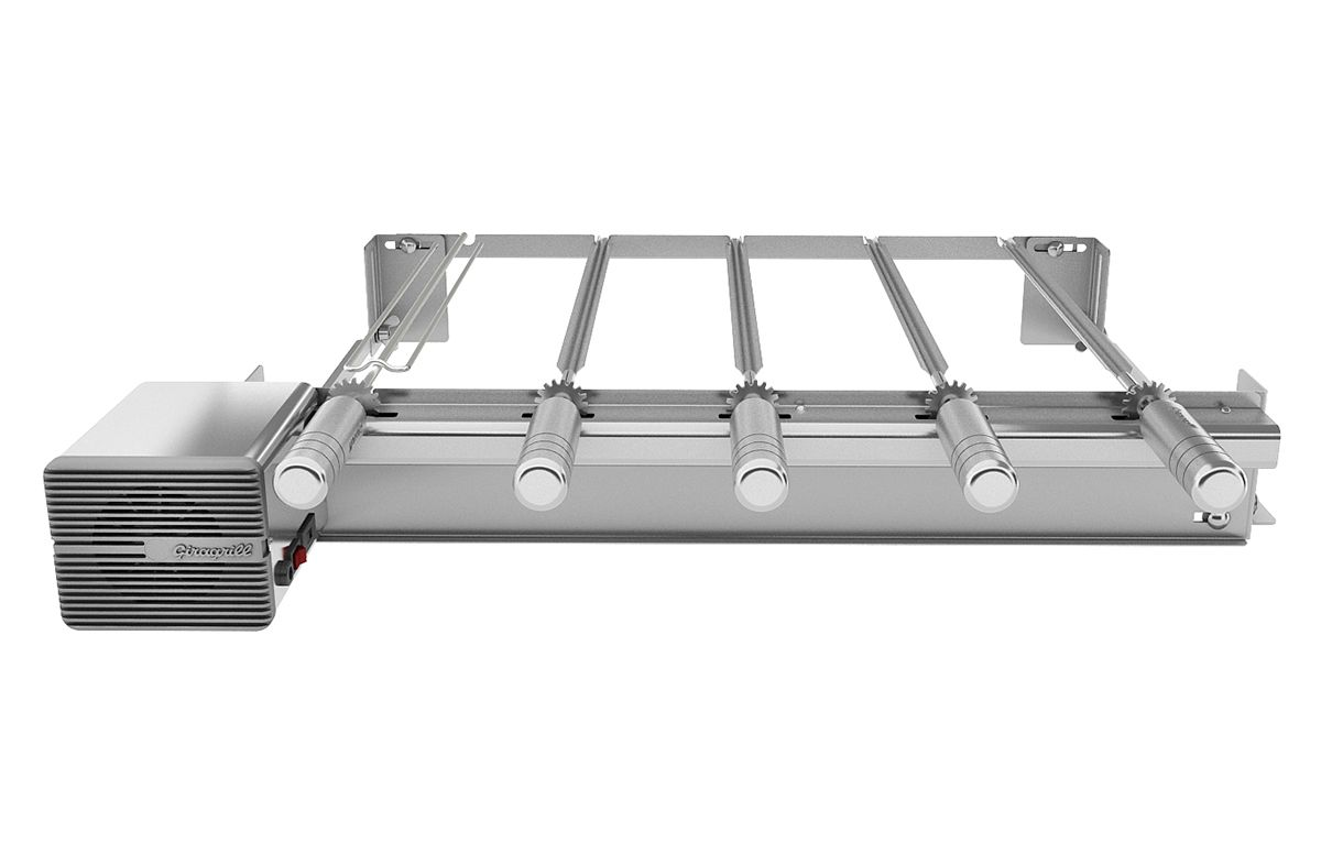 Giragrill Kit PM-5 Inox