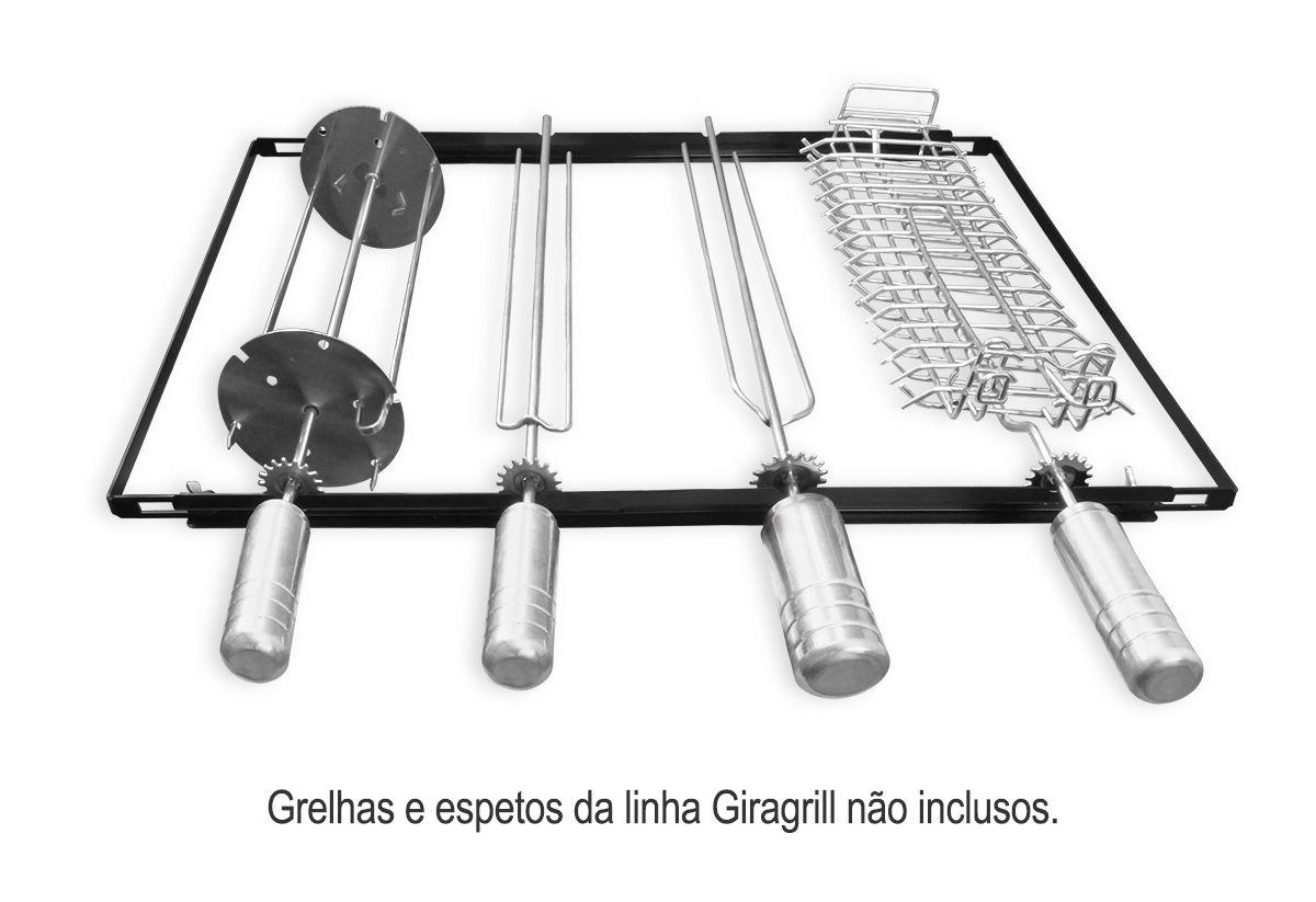 Giragrill Kit Suporte PM-4