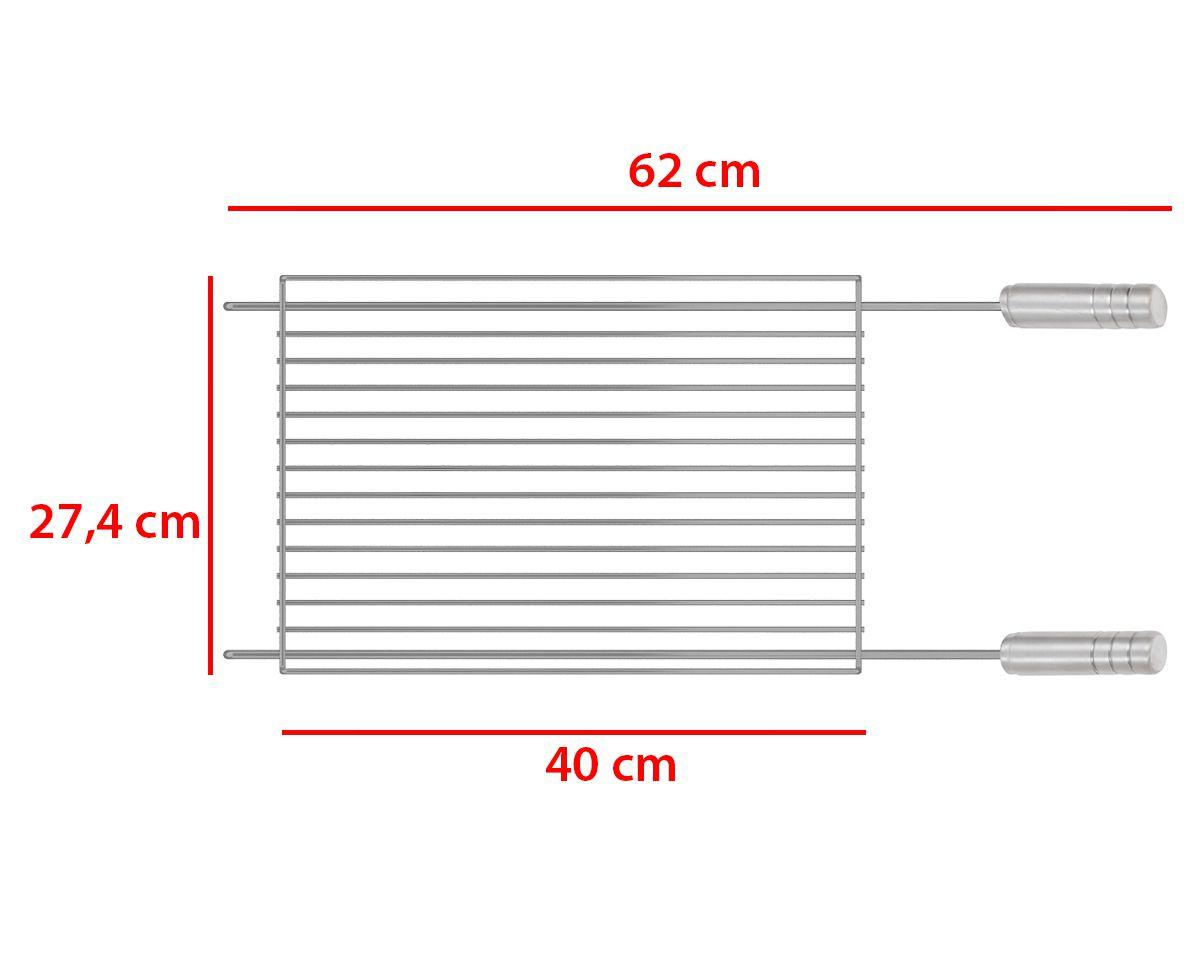 Grelha Tradicional GT-510 Premium