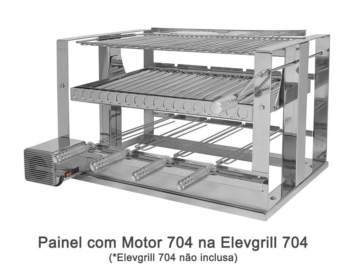 Painel com Motor 704 Elevgrill