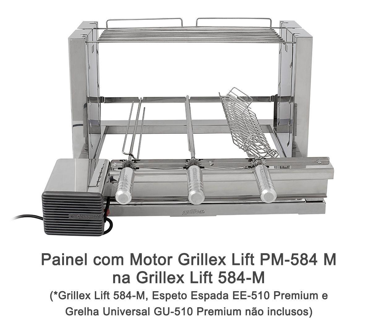 Painel com Motor Grillex Lift PM-584 M