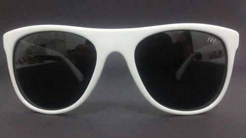 1a850f4c0 Alex Milan Oculos De Sol Branco Lentes Polarizada 607 c68