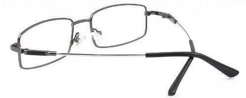 c25139d04 Armação Óculos De Grau Leve Titanium AM8170 Grafite - Alex Milan 011 ...