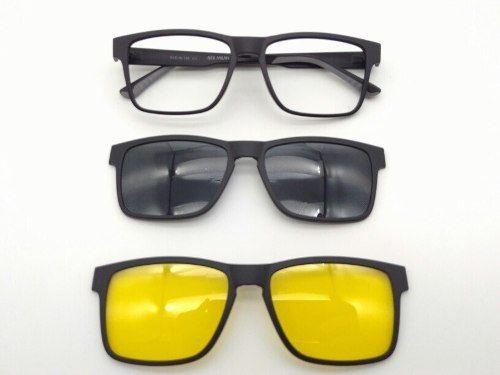 Armaçao De Grau Óculos Clipon Polarizada + Night Drive 3222 990bdd1701