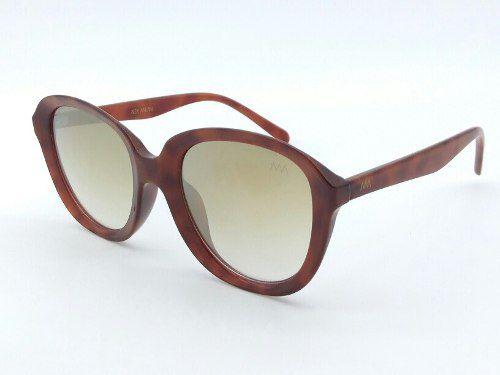 Oculos De Sol Grande Lentes Degrade Espelhada 8018 C8 Alex Milan 8abe56744b