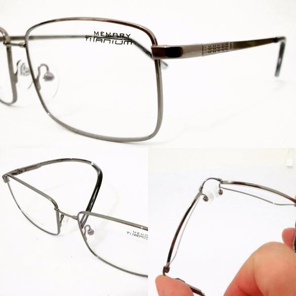 ac43b3138 Armação leve Óculos Titanium Flexivel 7102