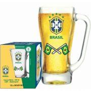 Caneca Milene CBF Bandeira - 500 ml