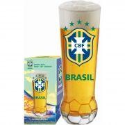 Copo Bola CBF Brasão - 370 ml