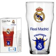 Copo Pub Real Madrid Torcida - 470 ml