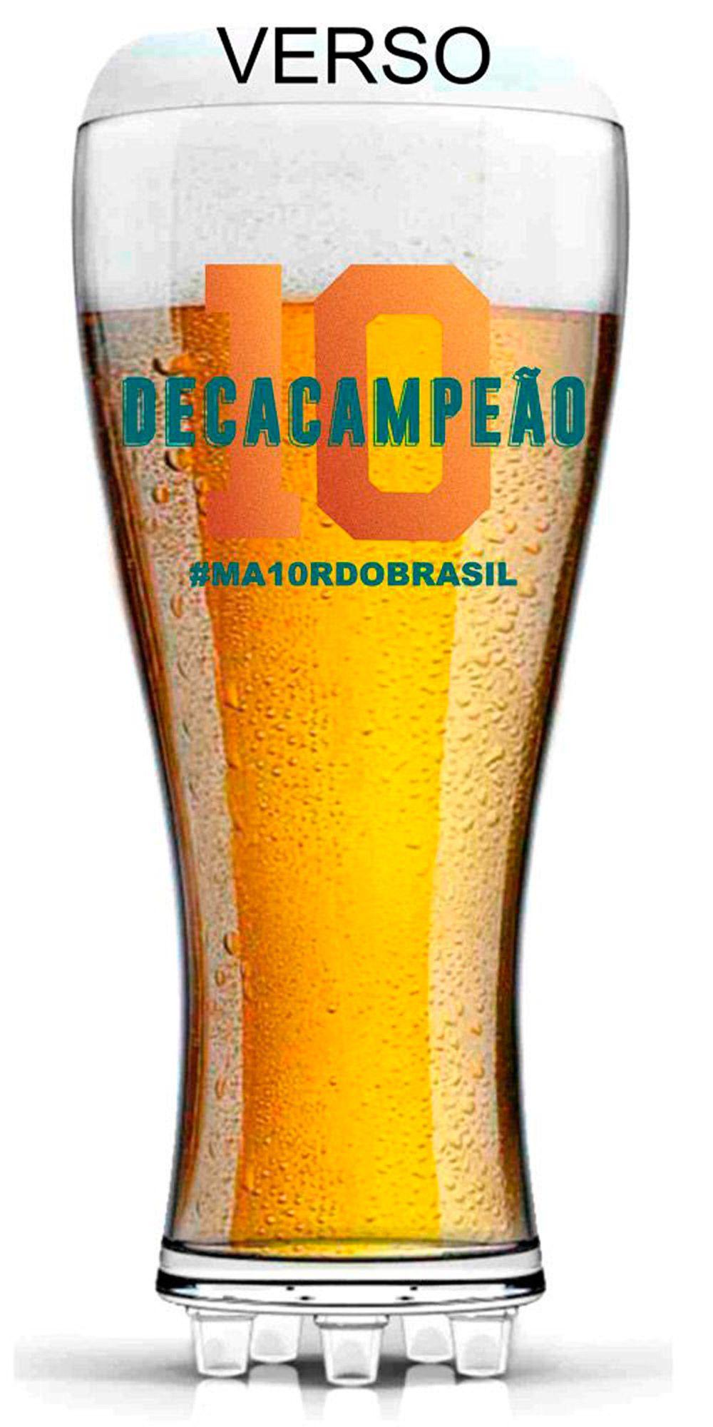Copo Chuteira Palmeiras Decacampeão - 370 ml